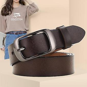 New Genuine Leather Belt - Adjustable High-quality Belts