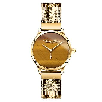 Thomas Sabo assiste Thomas Sabo Garden Spirit Tigers Eye Gold Womens Watch WA0364-264-205