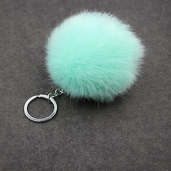 Small, Lightweight And Cute Pompon Design-keychains Or Purse Charm
