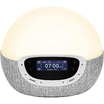 Lumie Bodyclock Shine 300 – Wake-up Light Alarm Clock with Radio