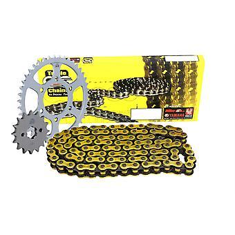 Triple S 525 O-Ring Ketting en Sprocket Kit Gold Triumph 800 Tiger XC 2011-