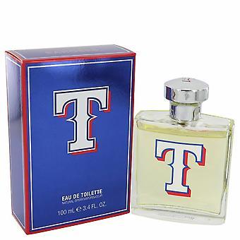 Texas Rangers by Texas Rangers Eau De Toilette Spray 3.4 oz / 100 ml (Men)