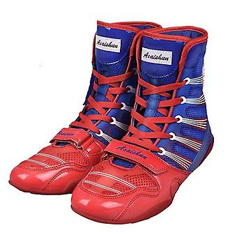 Professional Wrestling Boots, Anti Slip Fighting Boxing Shoes, Kids Indoor