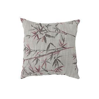 Zeitgenössischer Stil Set von 2 Werfen Kissen, rot