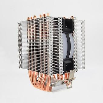 St-90 Cpu Cooler, 6-heatpipe With Rgb 4-pin, Cpu Fan Cooling