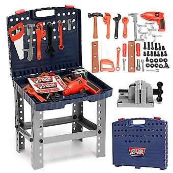Foldable Work Bench With Repair Multifunctional Baby Plastic Hand Tool