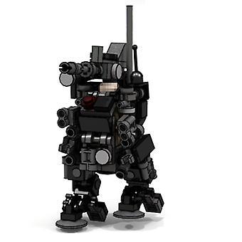 Mini Tatical Sniper Trooper Model Small Particle Building Block