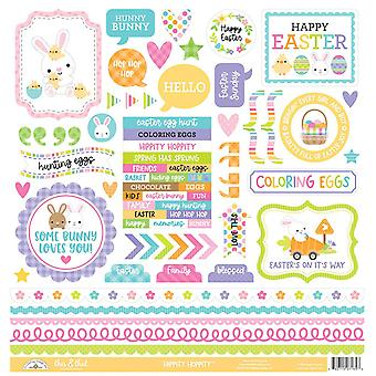 Doodlebug Design Hippity Hoppity This & That Stickers