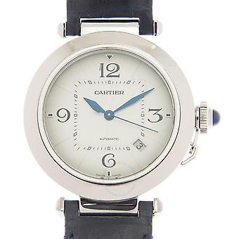 Cartier Pasha Automatic Silver Dial Men's Watch WSPA0010