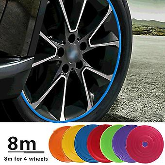 Rim Blades Car Vehicle Color Wheel Rims Protectors Decor Strip