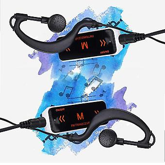 Fm Radio+soft Earphone 400-470mhz Wireless Intercom Helmet Headset