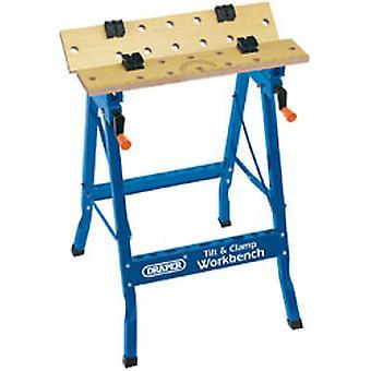 Draper 9951 600mm Tilt og klemme fold Down Workbench