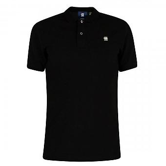 G-Star Dunda Slim Fit Polo T-Shirt Black D11595