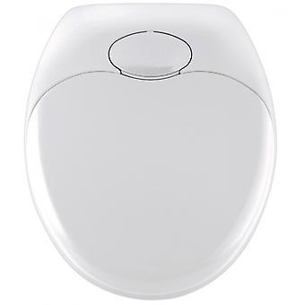 WC zitting Familie 35,2 x 38 cm thermoplastisch wit
