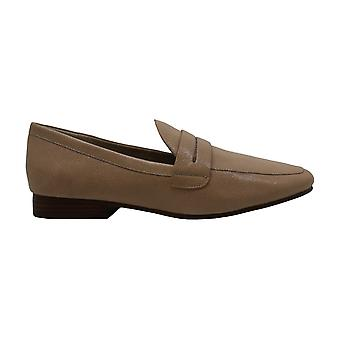 Enzo Angiolini Womens Tazlin Leather Closed Toe Loafers
