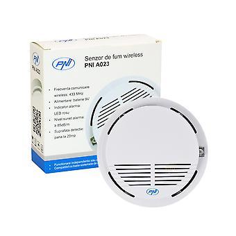 PNI A023 Trådløs røgsensor, kompatibel med PNI SafeHouse HS550 Wireless Alarm System