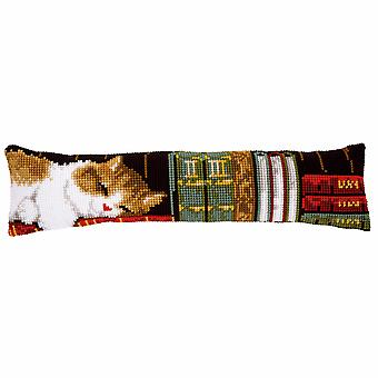 Vervaco Cross Stitch Kit: Draught Excluder: Cat Sleeping