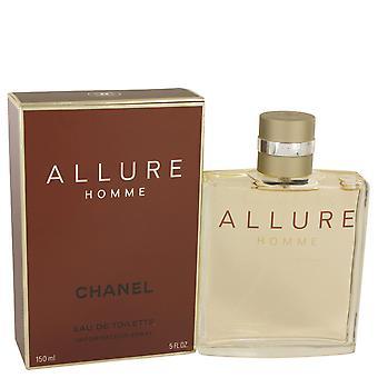ALLURE by Chanel Eau De Toilette Spray 5 oz