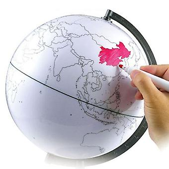 Paintable And Erasable Globe