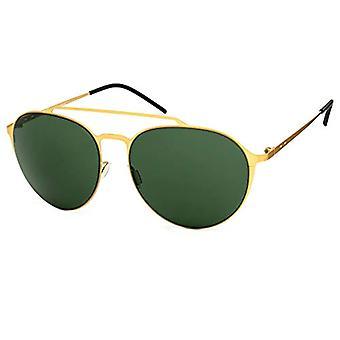 ITALY INDEPENDENT 0221-120-120 Sunglasses, Gold (Dorado), 58.0 Woman