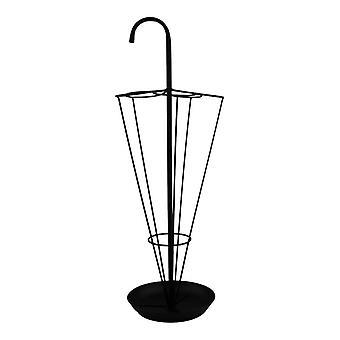 Black Metal Umbrella Stand
