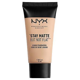 NYX Professional Make Up NYX Stay Matt Men inte Platt Flytande Foundatio 35ml Porslin 16