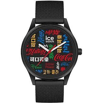 Ice Watch - COCA COLA×ICE-WATCH - Team - Black - Medium - 3H - 019618