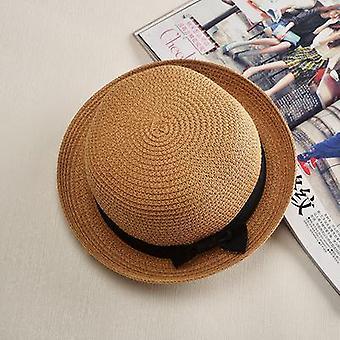 Womens panamá chapéu de praia de verão