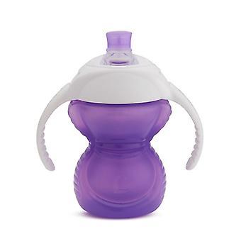 Munchkin Click Lock Chew Proof Trainer Cup Purple