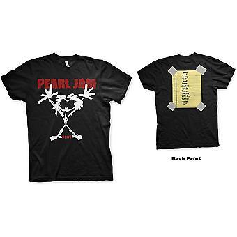 Pearl Jam - Stickman Men's Medium T-Shirt - Black