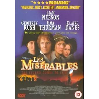 Les Miserables (1998) DVD