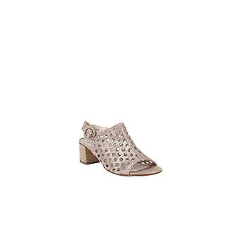 Paul Green | Tico Perforated Block-Heel Sandals