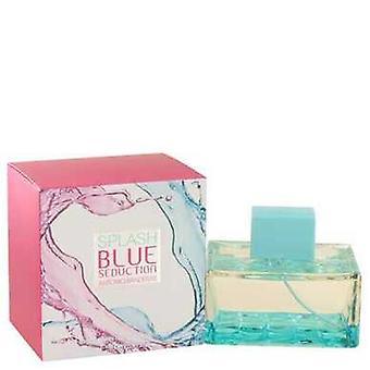 Splash Blue Förförelse Av Antonio Banderas Eau De Toilette Spray 3.4 Oz (kvinnor)