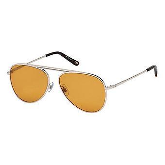 """משקפי שמש יוניסקס משקפי שמש אינטרנט WE0206-16E כסף חום (ø 58 מ""""מ)"""