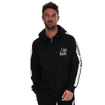 Men's Russell Athletic Zip Hoody in Black