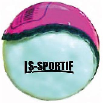 LS Sportif Hurling Club a County Sliotar Ball Pink/White - Dospelý