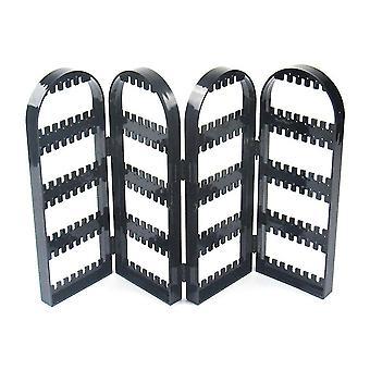 Plastic Large Capacity Earring Stud Storage Rack Display Stand