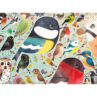 Ravensburger Matt Sewellin Our British Birds Jigsaw Puzzle (500 kappaletta)