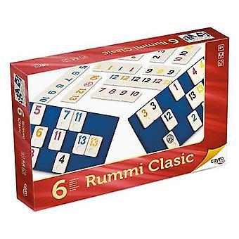 Brettspiel Rummi Classic Cayro (ES-PT-EN-FR-IT-DE) (ES-PT-EN-FR-IT-GR) (35 x 26 x 6 cm)