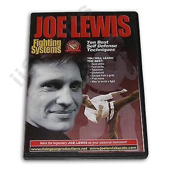 Joe Lewis Fighting Ten Best S/D Tech #14 Dvd -Vd6749A