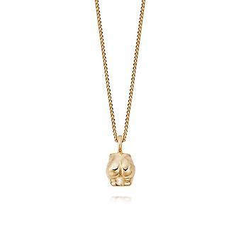 Daisy Vita Bum 18ct Gold Plate Necklace AN04_GP