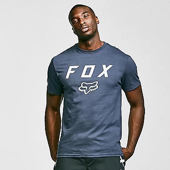 New Fox Men's Legacy Moth Short-Sleeve Tee Blue