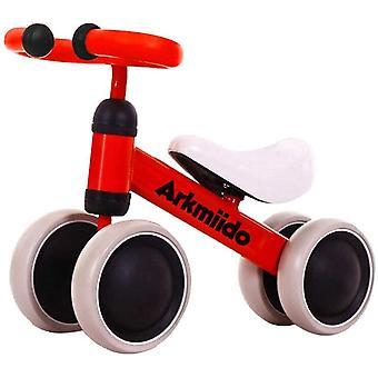 Kinder Laufrad Spielzeug für 1-3 Jahr Lauflernrad für Baby und Kinder Lauflernrad 4 Rädern Baby
