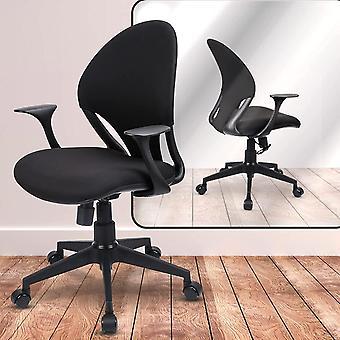 Ergonomischer Bürostuhl 360°Drehstuhl mit Stummesrad Computerstuhl Rückenlehne kann 90-120 ° Neigung
