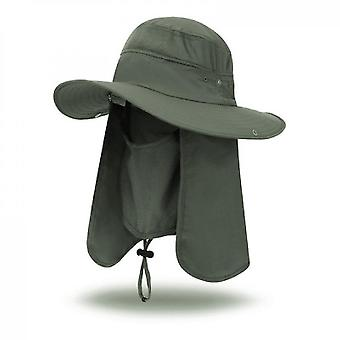 Outdoor Sun Hat, Sun Protection, Fishing Climbing Hat(Color4)