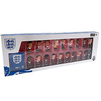 Inglaterra FA SoccerStarz 19 Player Team Pack Produto Licenciado Oficial