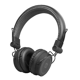 Headphones with Microphone SBS TTHEADPHONEDJBTK Headband Black