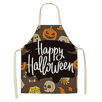 Halloween Castle Kurpitsa Esiliina Luova Puuvilla ja Pella Pella Esiliina Keittiö Housework