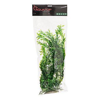"Aquatop Hygro Aquarium Plant - Green - 20"" High w/ Weighted Base"