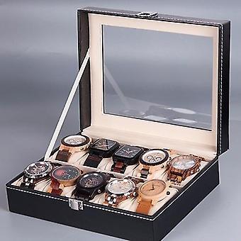 Bird Men's Watches Box Case 6 /10 Grids